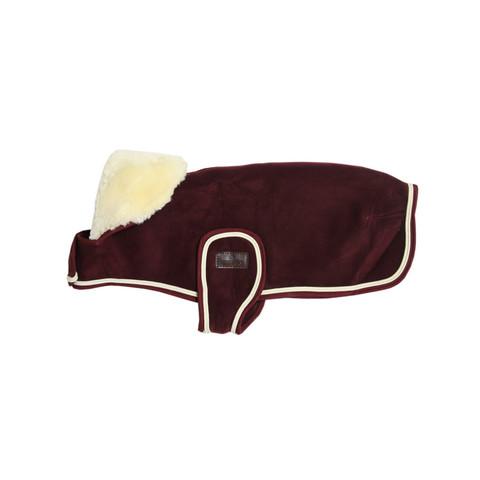 Kentucky Dog Coat Heavy Fleece, viininpunainen