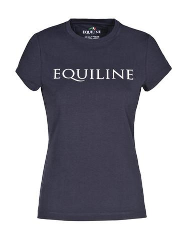 Equiline Clarenc T-paita, tummansininen, koko M