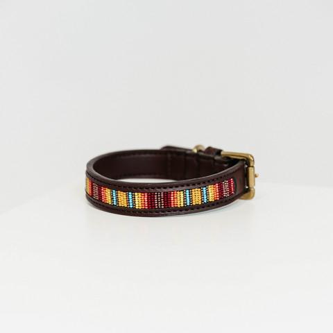 Kentucky koiran kaulapanta collar handmade pearls, koko XS-S