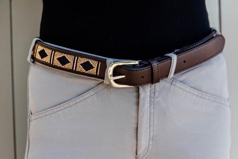 Kentucky Belt Handmade Pearls, eri värejä