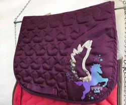 Equitheme ponihuopa, violetti