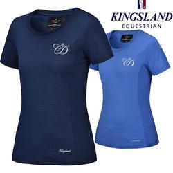 Kingsland CD tekninen t-paita, sininen, koko L