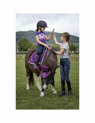 Equikids Judit lasten T-paita, violetti