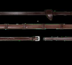Dyon Working Collection kumiohjat stoppareilla, ruskea ja musta