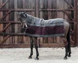 Kentucky Heavy Fleece rug square fishbone viltti, 210x200cm
