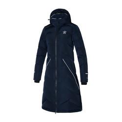 Kingsland Tessa Ladies Long Insulated Riding Coat, tummansininen