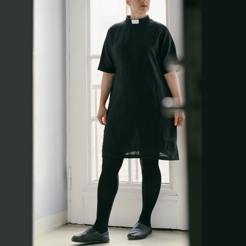 Linen clergy tunic