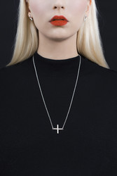 The Cross necklace by Sini Kolari