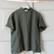 Khaki green linen top