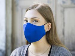 Pyhävaatteen kangasmaski, sininen