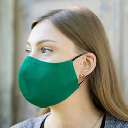 Pyhävaatteen kangasmaski, vihreä