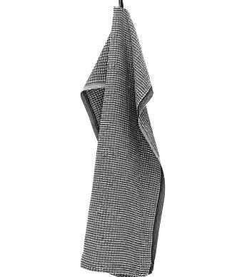 MAIJA käsipyyhe 48x70cm, musta-valkoinen