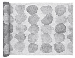 SADE laudeliina, 46x150cm.Väri: valko-harmaa