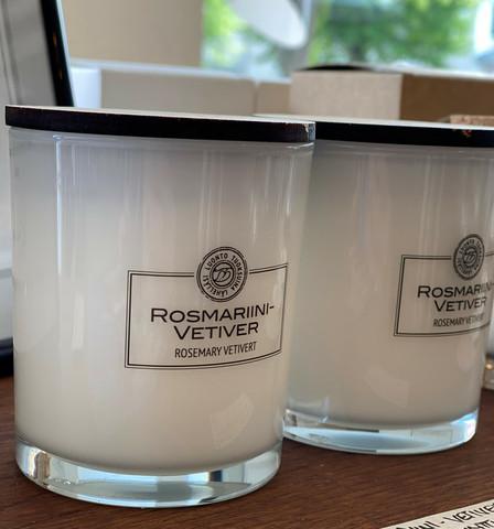 ROSMARIINI-VETIVER tuoksukynttilä