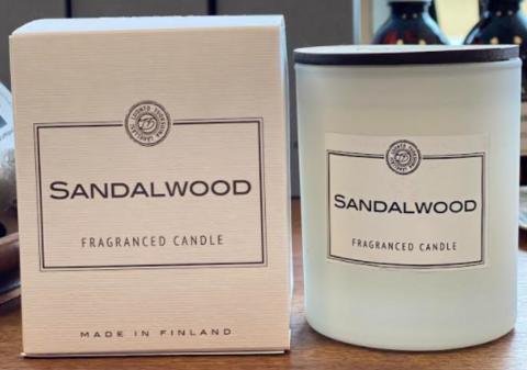 Sandalwood tuoksukynttilä