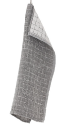 LASTU keittiöpyyhe 48x70cm, 39 pellava-musta