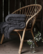 SAAGA UNI villahuopa 130 x 170cm + hapsut, Savun harmaa