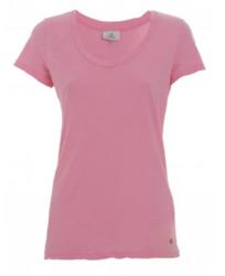 Deha V-aukko t-paita. Väri: Pink