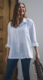 Linen Button Shirt, valkoinen Koko: One Size