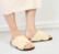 Vera Teddy Fussbett sandal Väri: l.valk