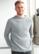 KASKI miesten ribbineule Väri: Light Grey