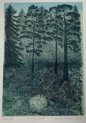 Krohn  Metsän henki / kehystetty