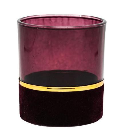 Tuikkukuppi 10 cm viininpunainen