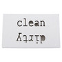 Astianpesukone magneetti clean-dirty