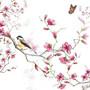 Servetti Lintu kukkivalla oksalla
