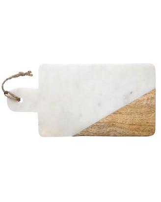 Leikkuulauta marmori ja mangopuu