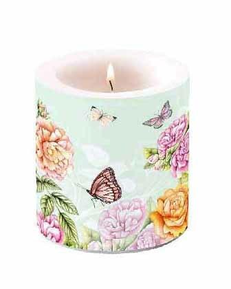 Kynttilä Ruusutarha 10 cm
