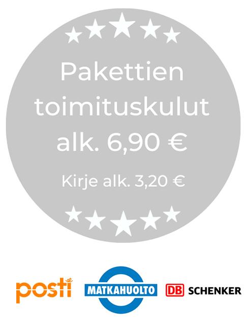Pakettien toimituskulut alkaen 6,90 € - Posti - Matkahuolto - DB Schenker | Sisustusliike Cimla Interior | Sisustusverkkokauppa