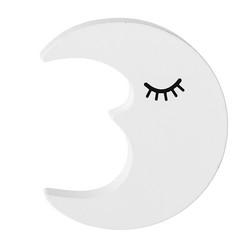Kuu koukku 7x8cm valkoinen