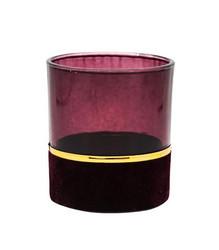 Tuikkukuppi 8 cm viininpunainen