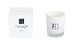 Tuoksukynttilä White Moss & Cotton valkoinen
