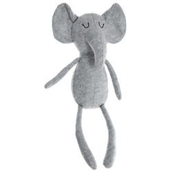 Iso harmaa elefanttipehmolelu
