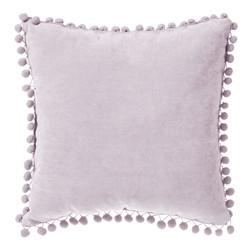 Pompom tyyny vaaleanpunainen