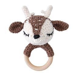 Bambi helistin puurenkaassa ruskea
