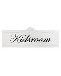 Lastenhuoneen kyltti