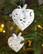 Sydän koriste kimalteleva