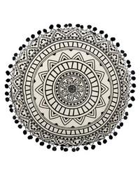 Koristetyyny pyöreä boho 40 cm