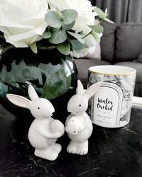 Pääsiäispupu valkoinen - pääsiäiskoriste