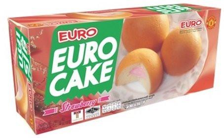 Euro cake Strawberry 144g