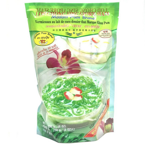 Madam Pum Brand Lod Chong Singapore Siam jälkiruoka 130g