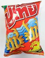 Pu Thai mustekalan makuinen rapea snacks 60g