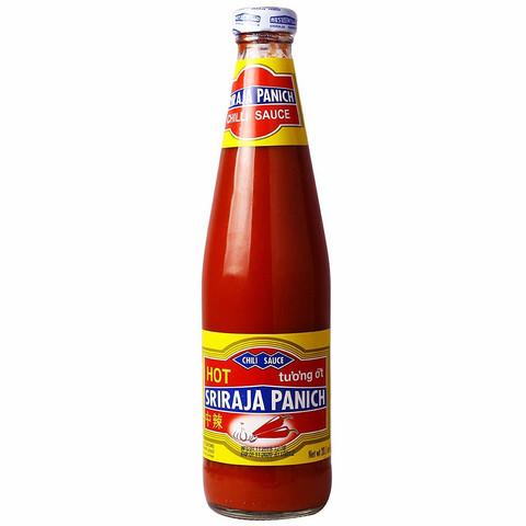 Sriraja Panich Hot Chilikastike 570g