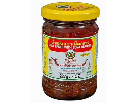 Chili tahna soijapapu öljyssä 227g