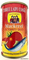 Three Lady Cooks makrilli tomaattikastikkeessa 155g