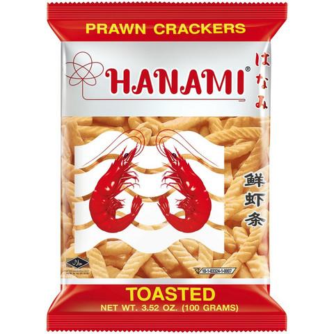 Hanami katkarapu snack 100g