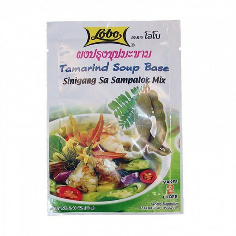 Lobo Tamarind Soup Base 40g